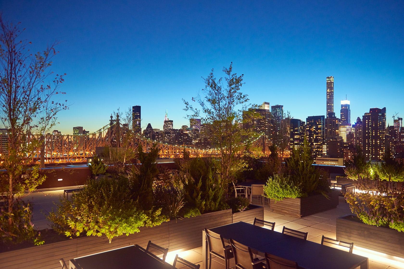 Future green studio architizer for 41 river terrace new york