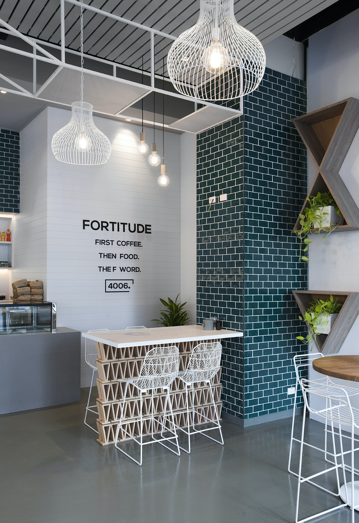 fortitude cafe on architizer