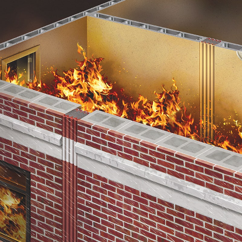 emshield wfr2 wall fire rated 2hrs on architizer