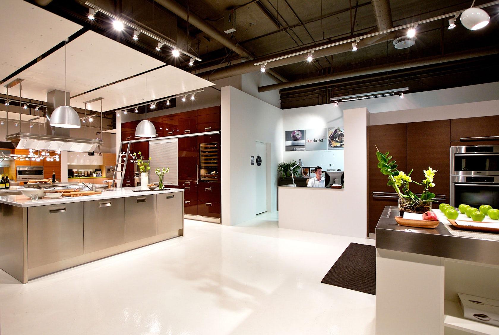 Kitchen showroom architizer for Kitchen showrooms san diego