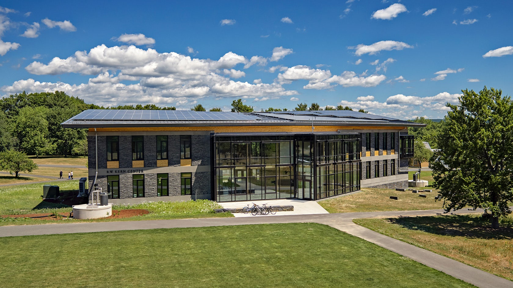 R w kern center architizer for College street motors amherst ma