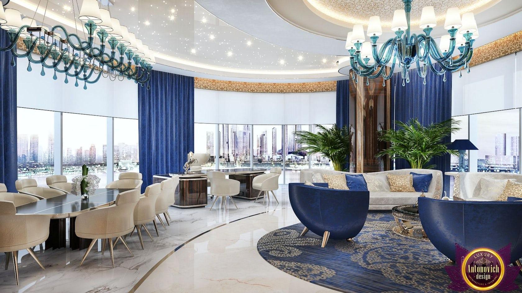 Elite office interior design of katrina antonovich for Elite interior designs