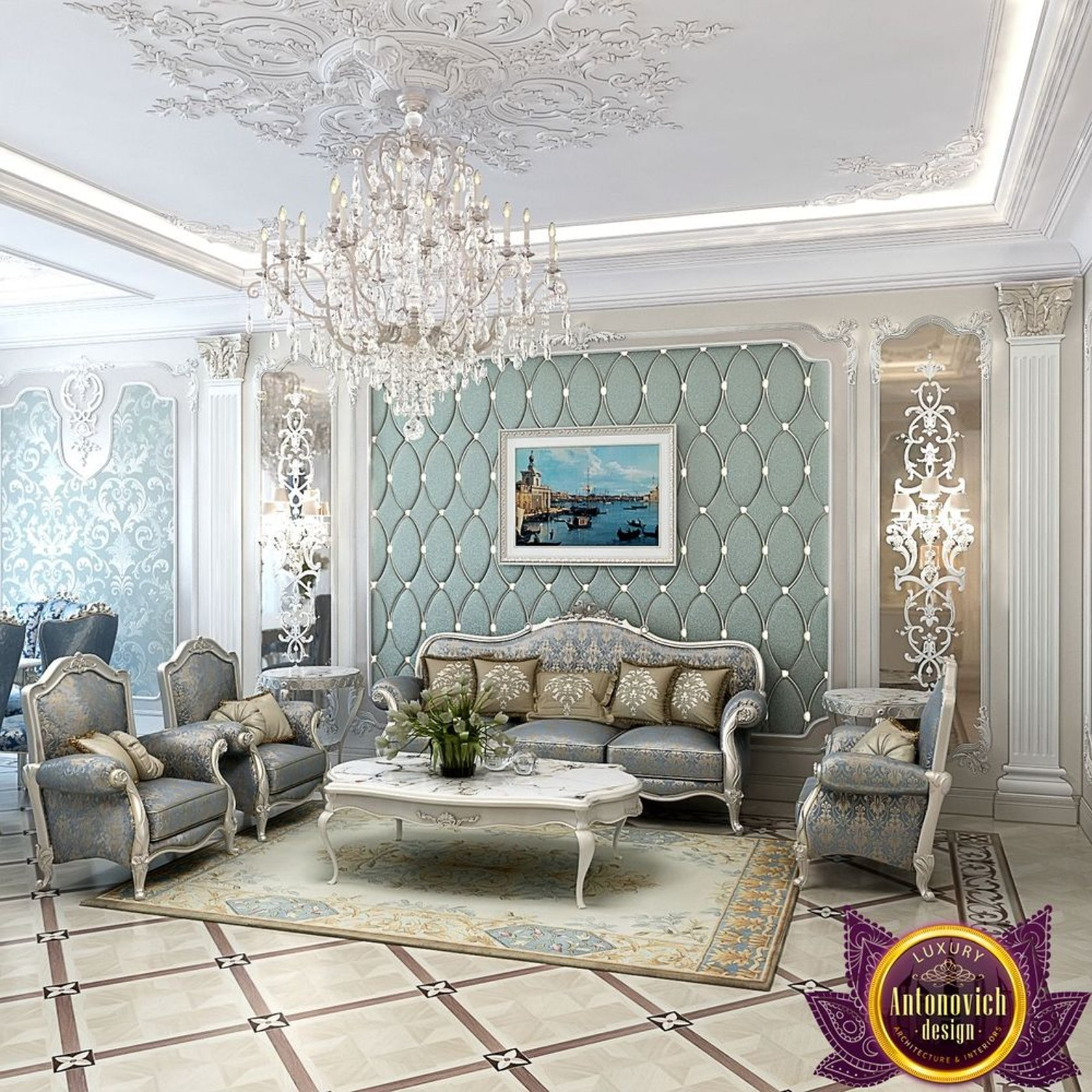 Masterpiece Of Interior Design From Katrina Antonovich