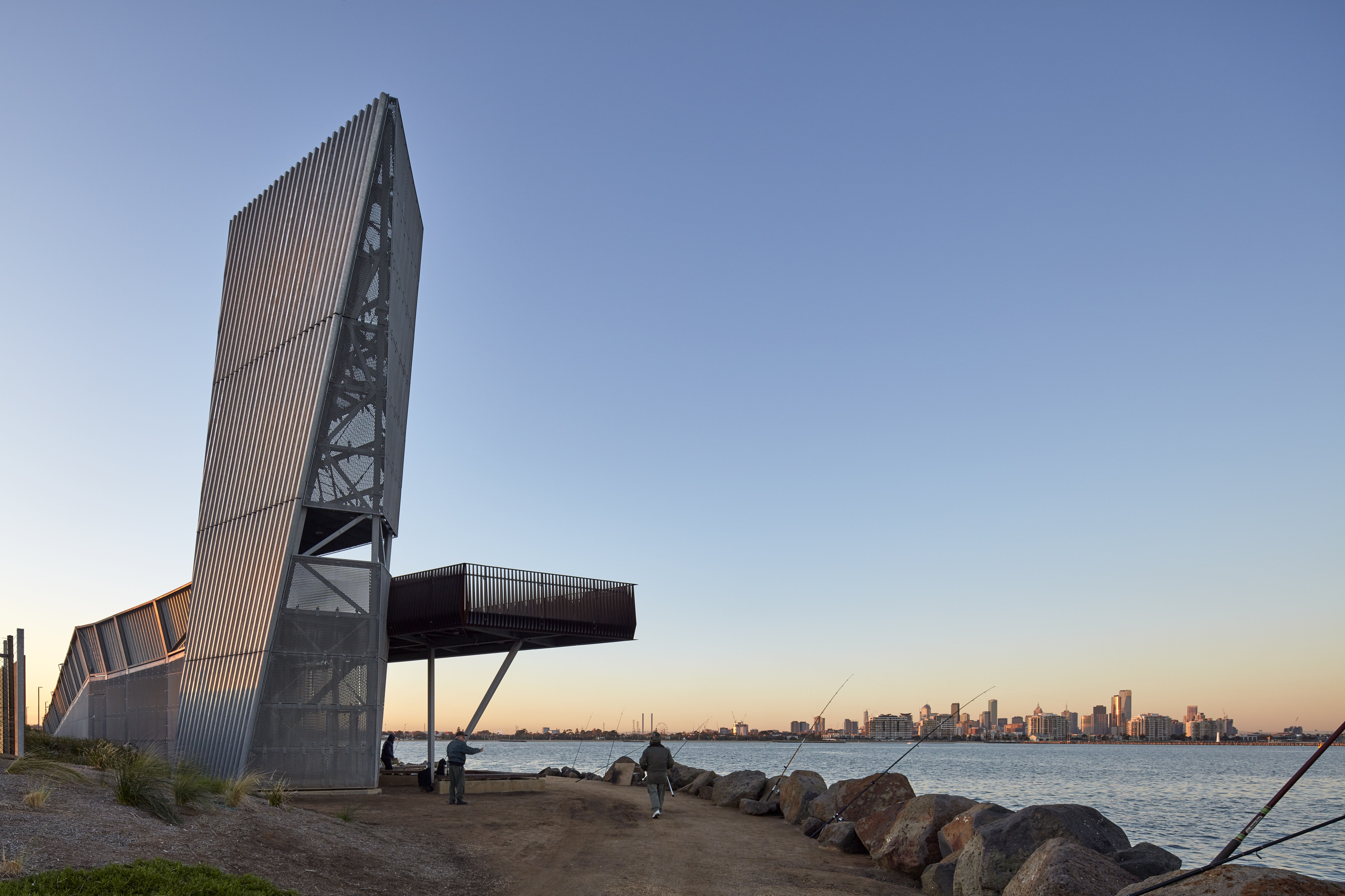 Bridge Street Auto >> Sandridge Lookout - Architizer
