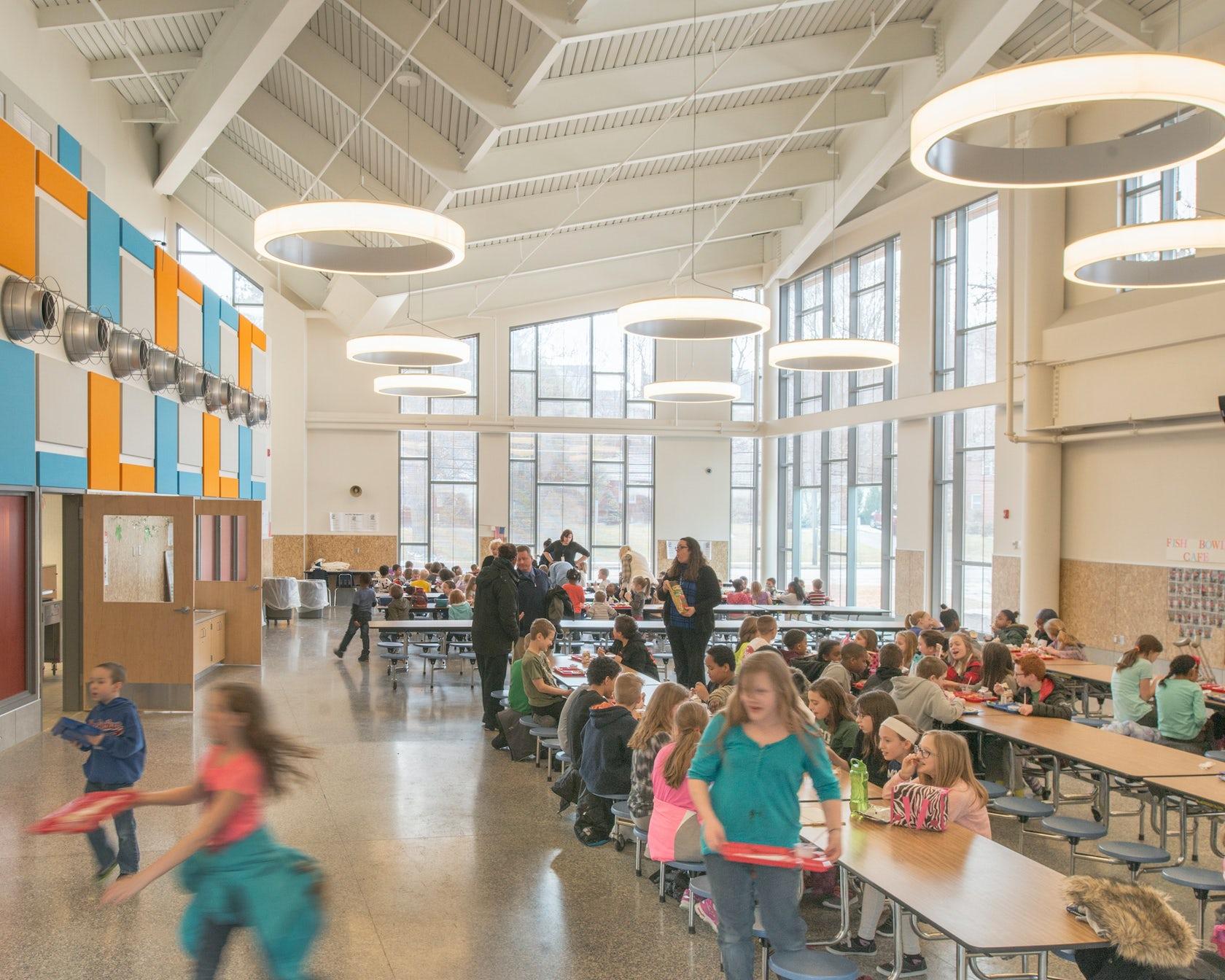 binghamton city school district new macarthur elementary school architizer. Black Bedroom Furniture Sets. Home Design Ideas