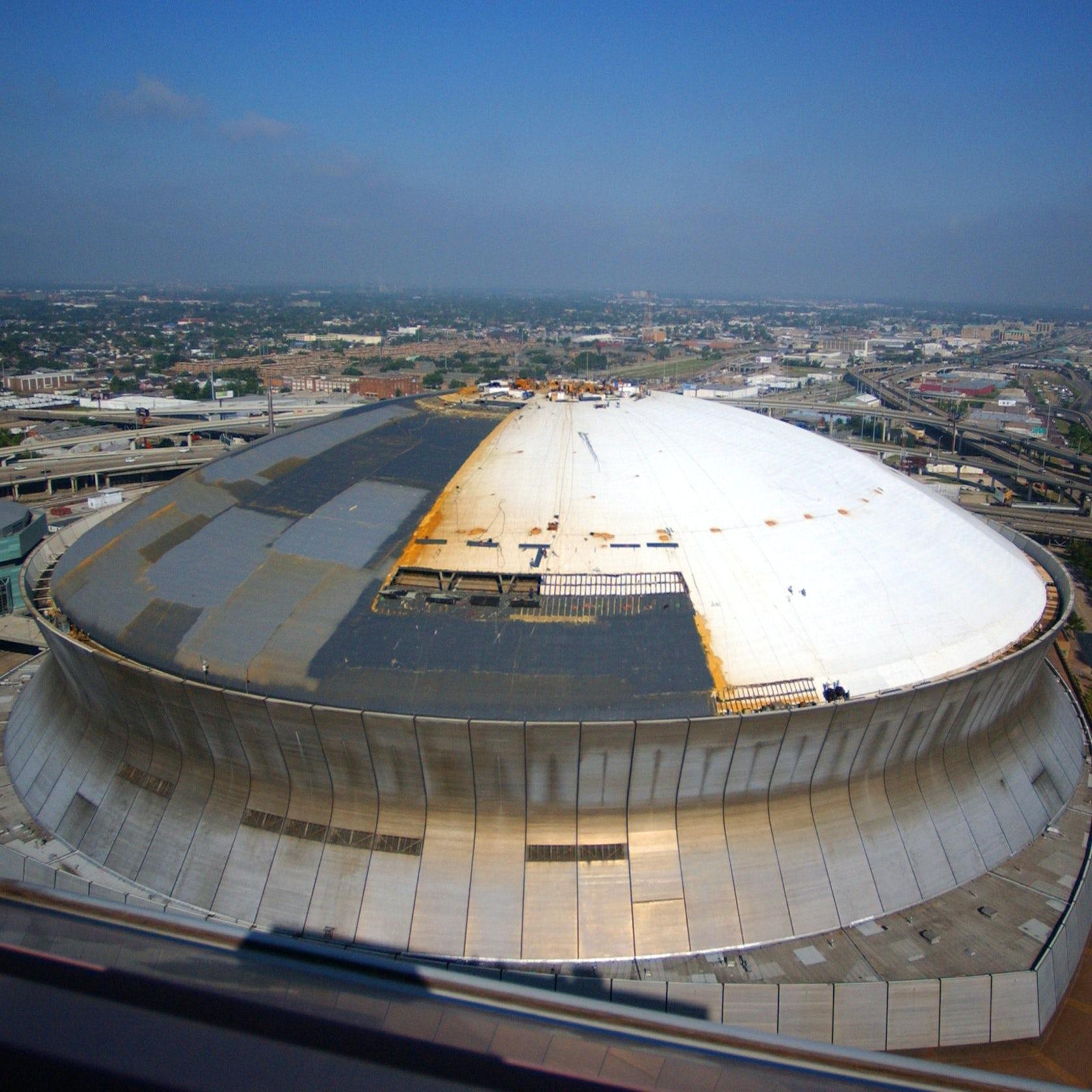 Mercedes benz superdome renovation architizer for Mercedes benz superdome hotels
