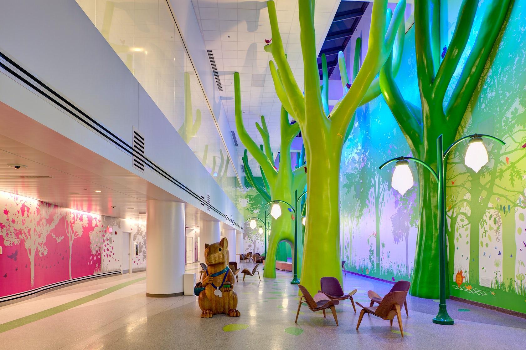 Nationwide Children S Hospital Wayfinding Experience
