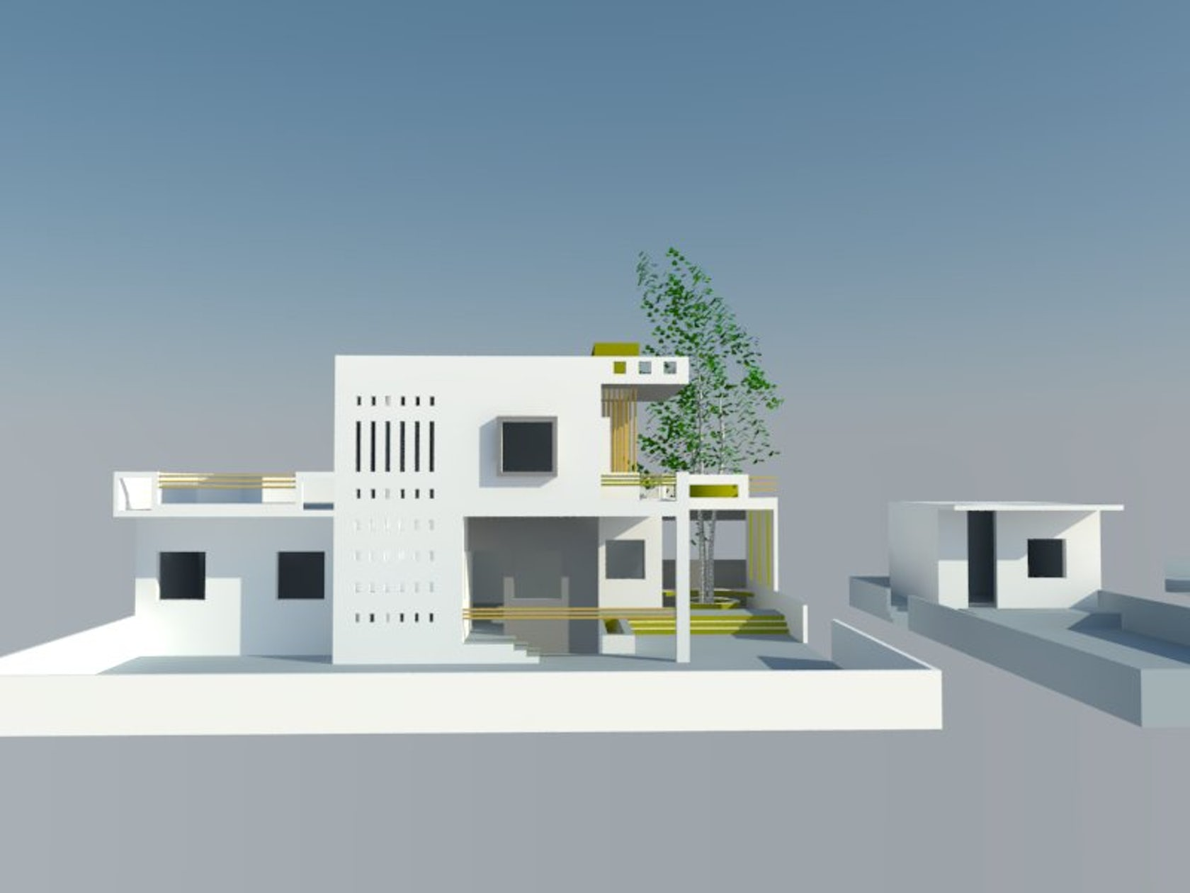 Low cost farm house architizer for Low cost farm house