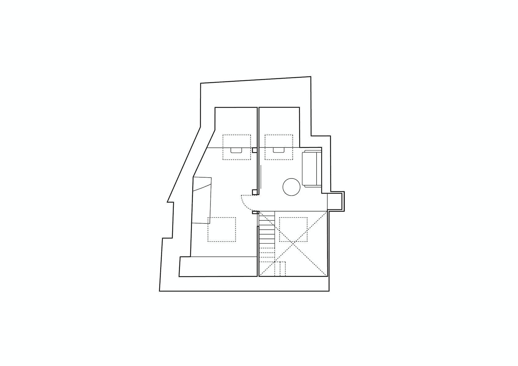 duplex rennes architizer. Black Bedroom Furniture Sets. Home Design Ideas