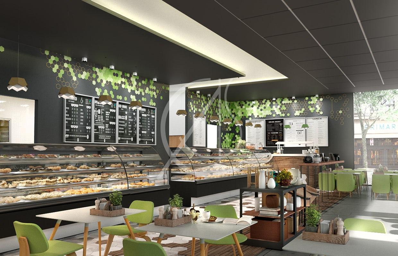 Eco Friendly Restaurant Interior Design For Aventura