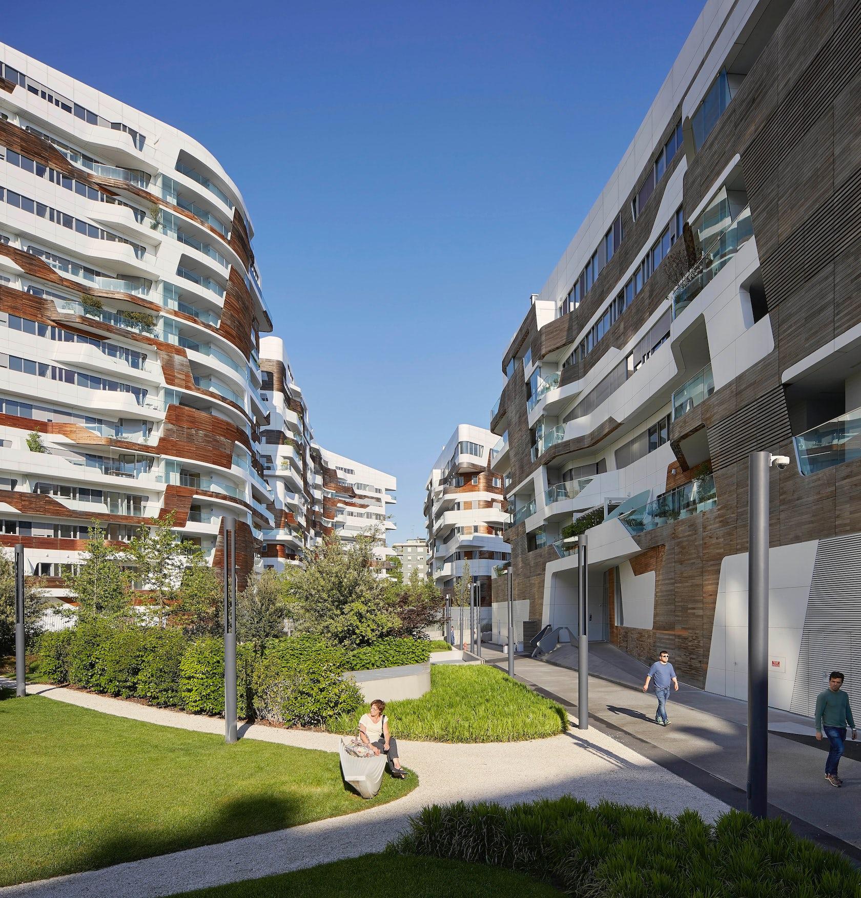 City life milano residential complex architizer for Prezzi city life milano
