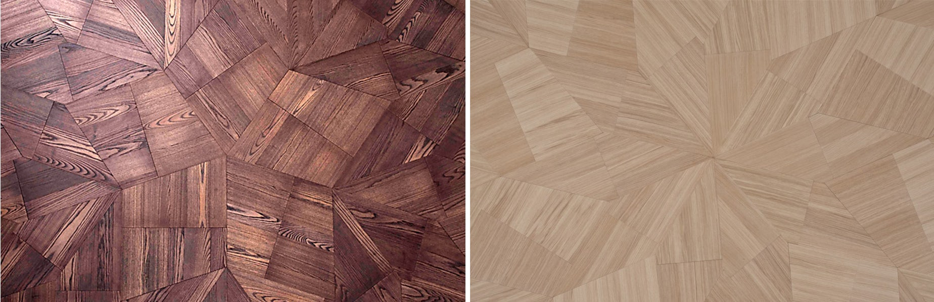 How to Craft Geometric Wood Flooring Like You've Never Seen Before