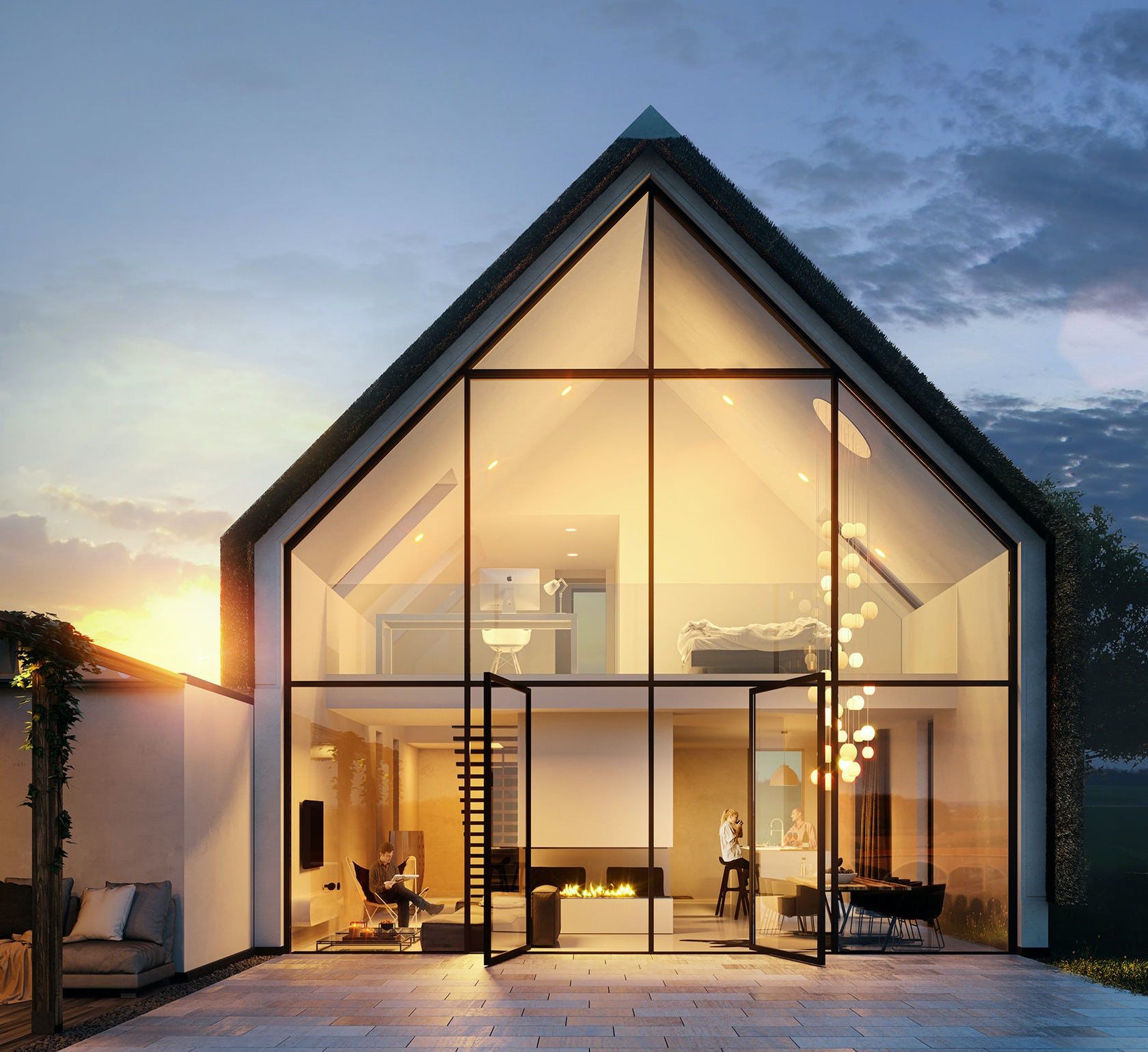 Lunas visualization architizer for House visualizer