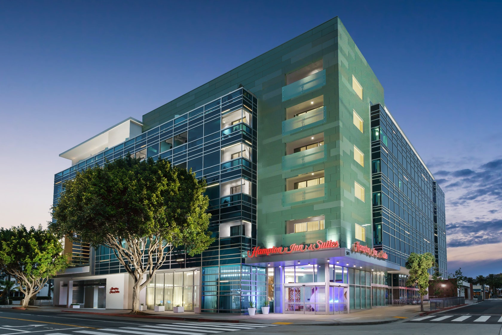 Downtown Santa Monica Hotels Architizer