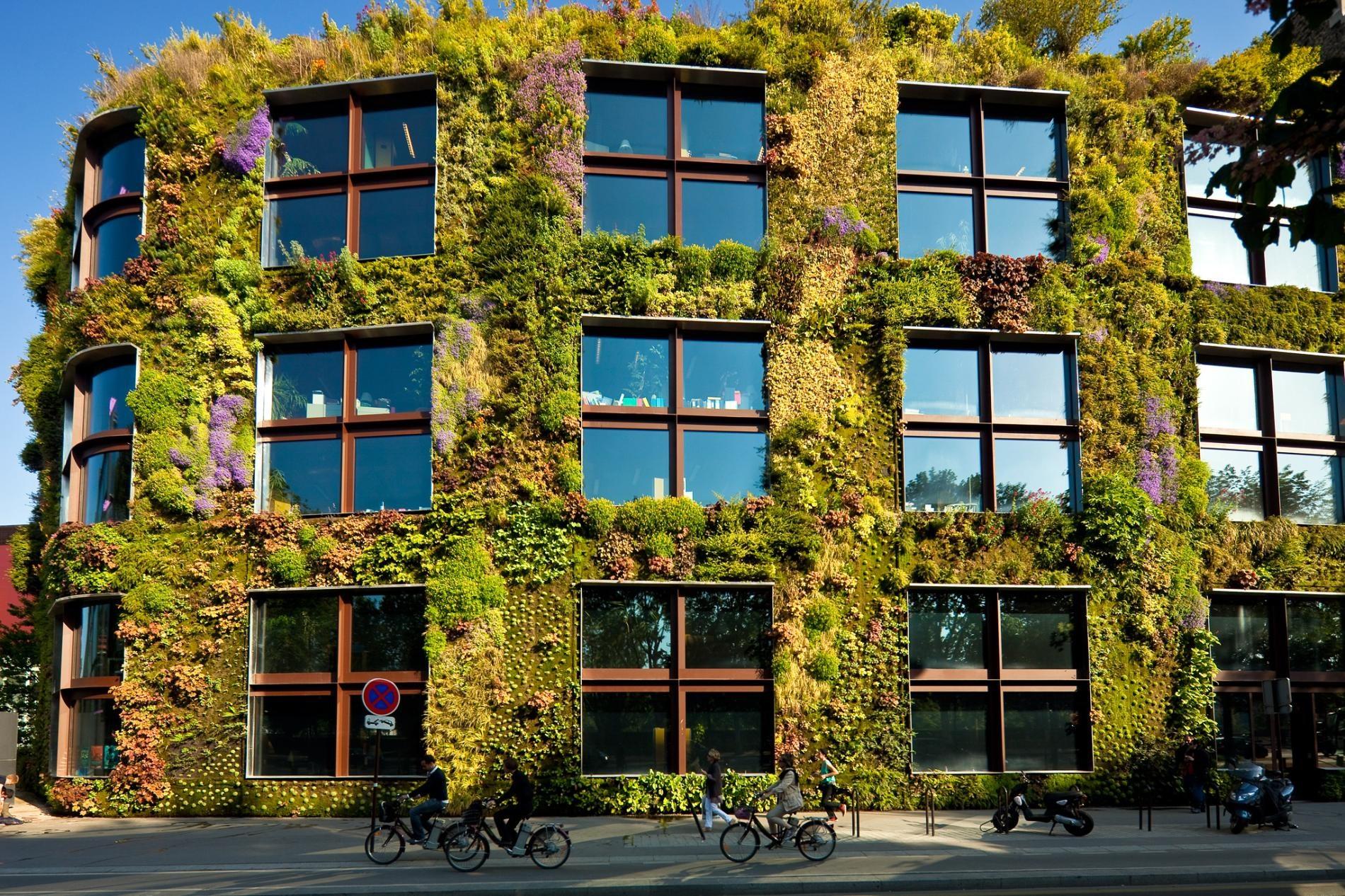 It's Alive! 5 Huge, Lushly-Planted Living Façades