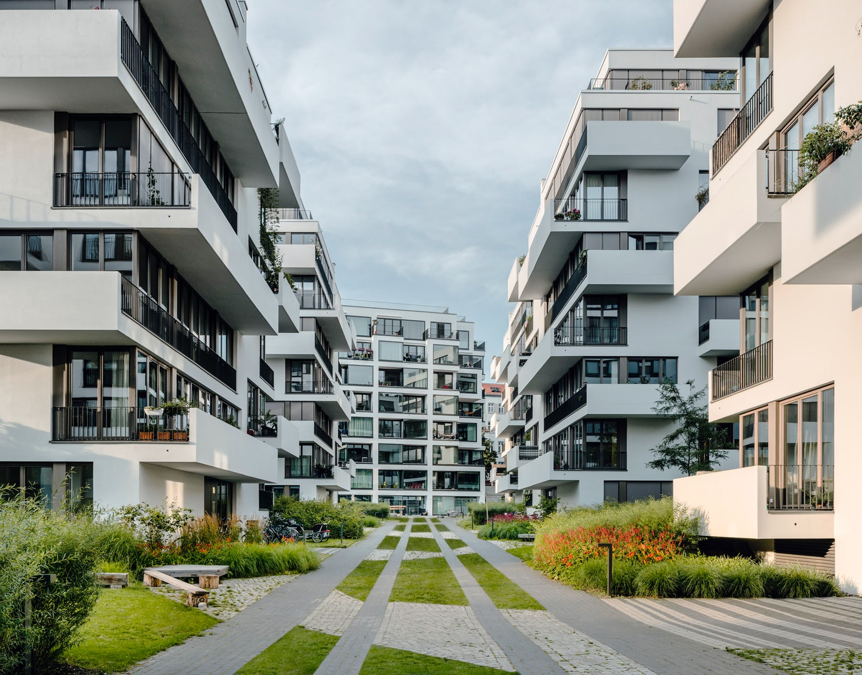 li01 New development of six residential buildings Liebigstrasse 1, Berlin-Friedrichshain  on Architizer