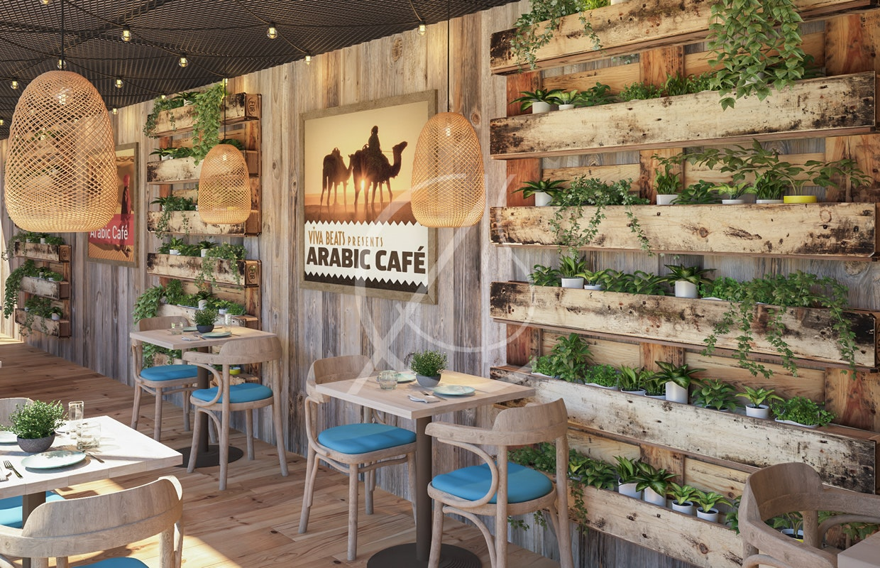 Ho Yamal Emirati Eco Friendly Cafe Container Design By Comelite Architecture Structure And Interior Design Architizer
