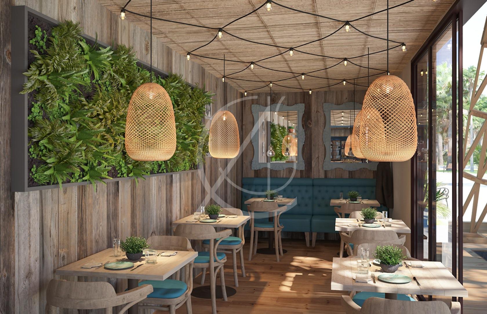 Ho yamal emirati eco friendly cafe container design