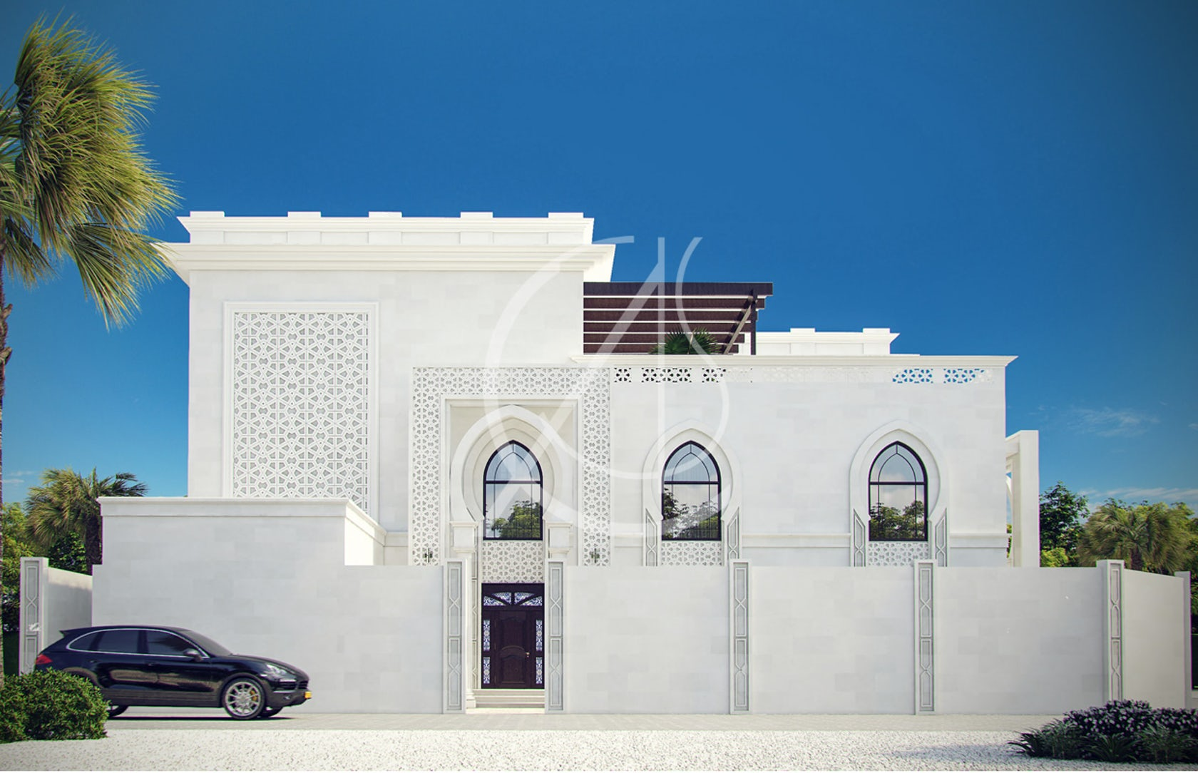 White Modern Islamic Villa Exterior Design on Architizer on colonial architecture homes, arabic architecture homes, dutch architecture homes, european architecture homes, engineering homes, french architecture homes, traditional architecture homes, ancient egyptian architecture homes, greek architecture homes, chinese architecture homes, spanish architecture homes, italian architecture homes, moorish revival homes, classical architecture homes, american architecture homes, organic architecture homes, economy homes, pakistani architecture homes, georgian architecture homes, russian architecture homes,