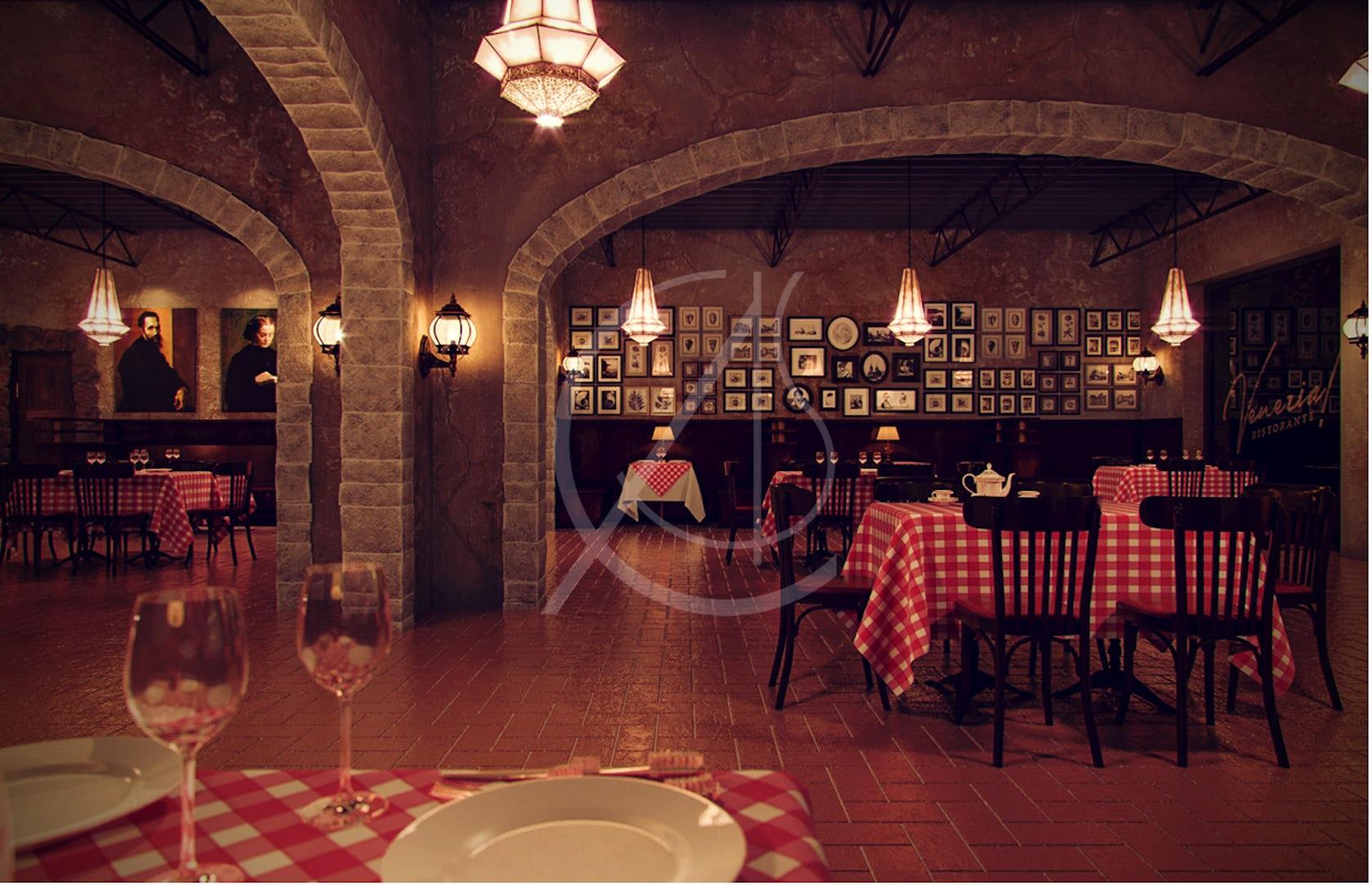 italian restaurant interior design ideas - Home Design