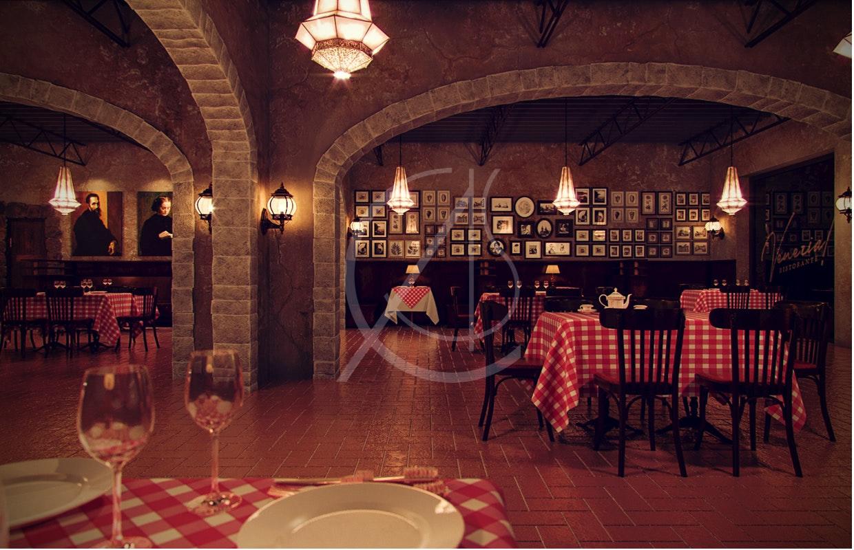 Venezia Italian Restaurant Interior Design By Comelite Architecture Structure And Interior Design Architizer