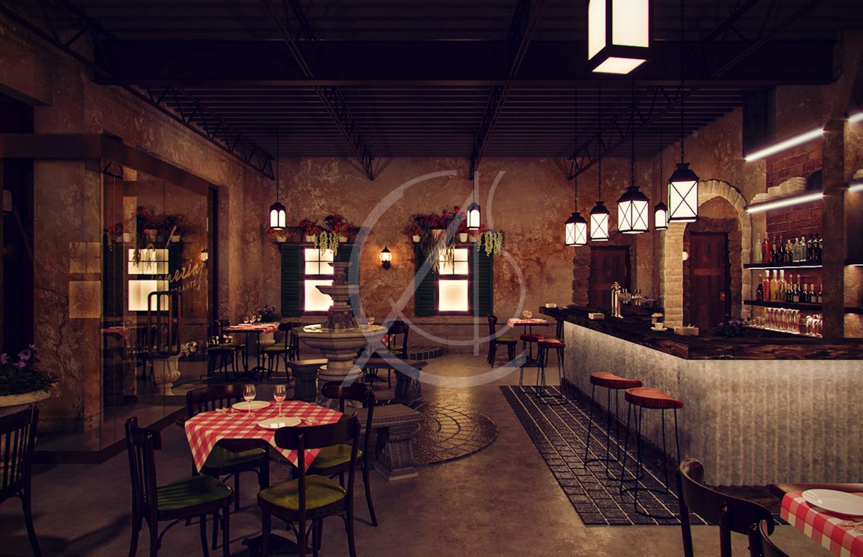 Venezia italian restaurant interior design architizer