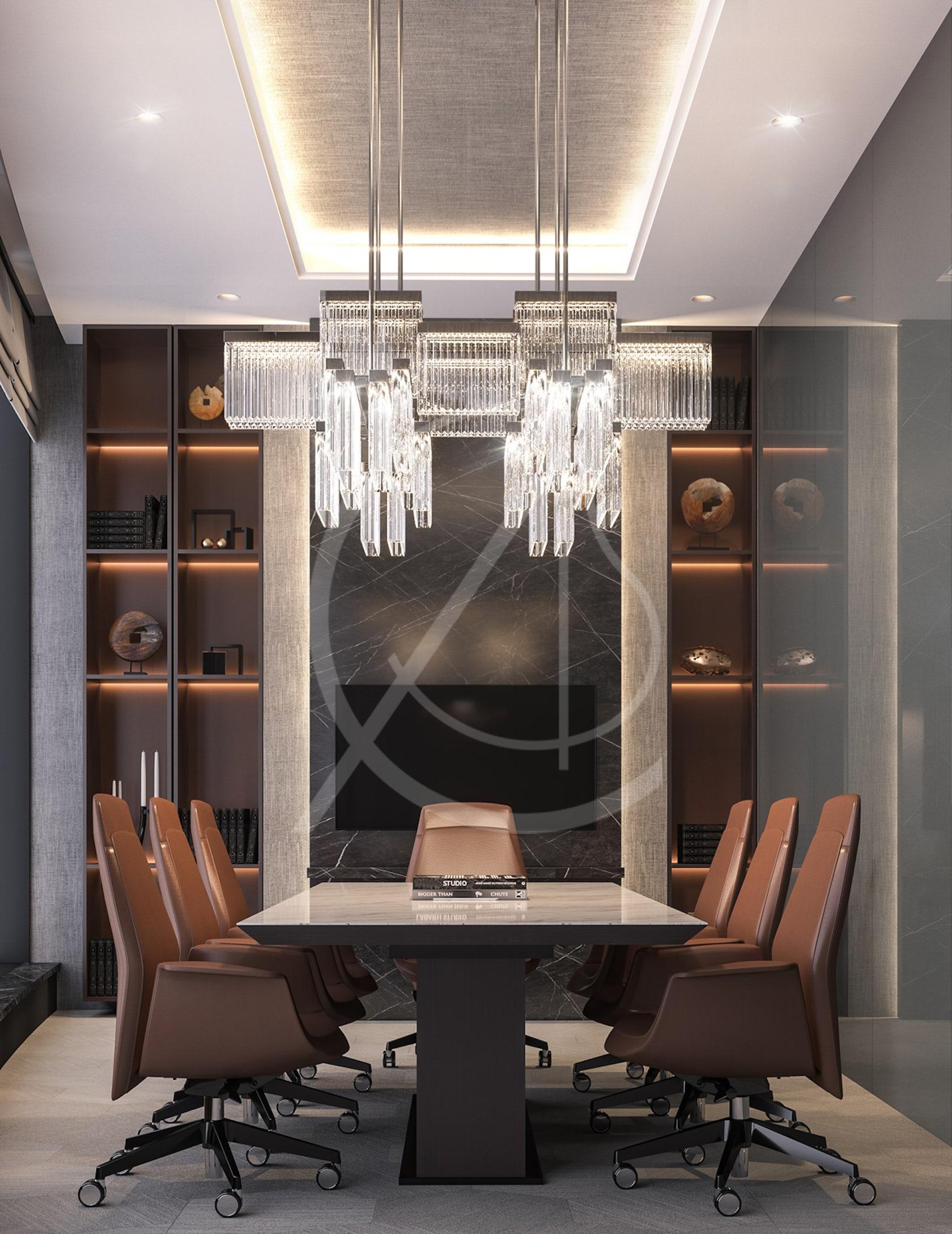 Modern Luxury CEO Office Interior Design on Architizer