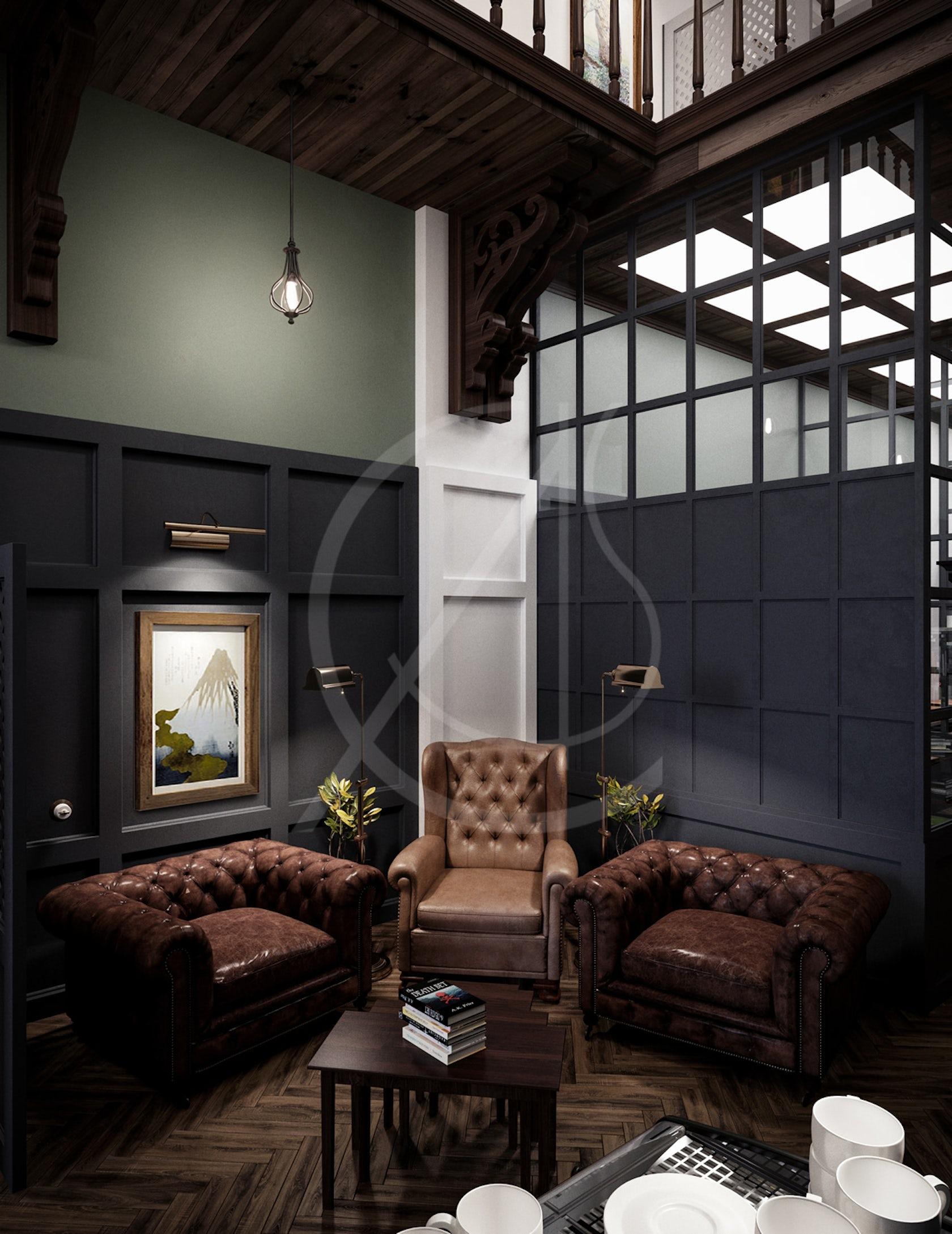 Student Cafe Design on Architizer