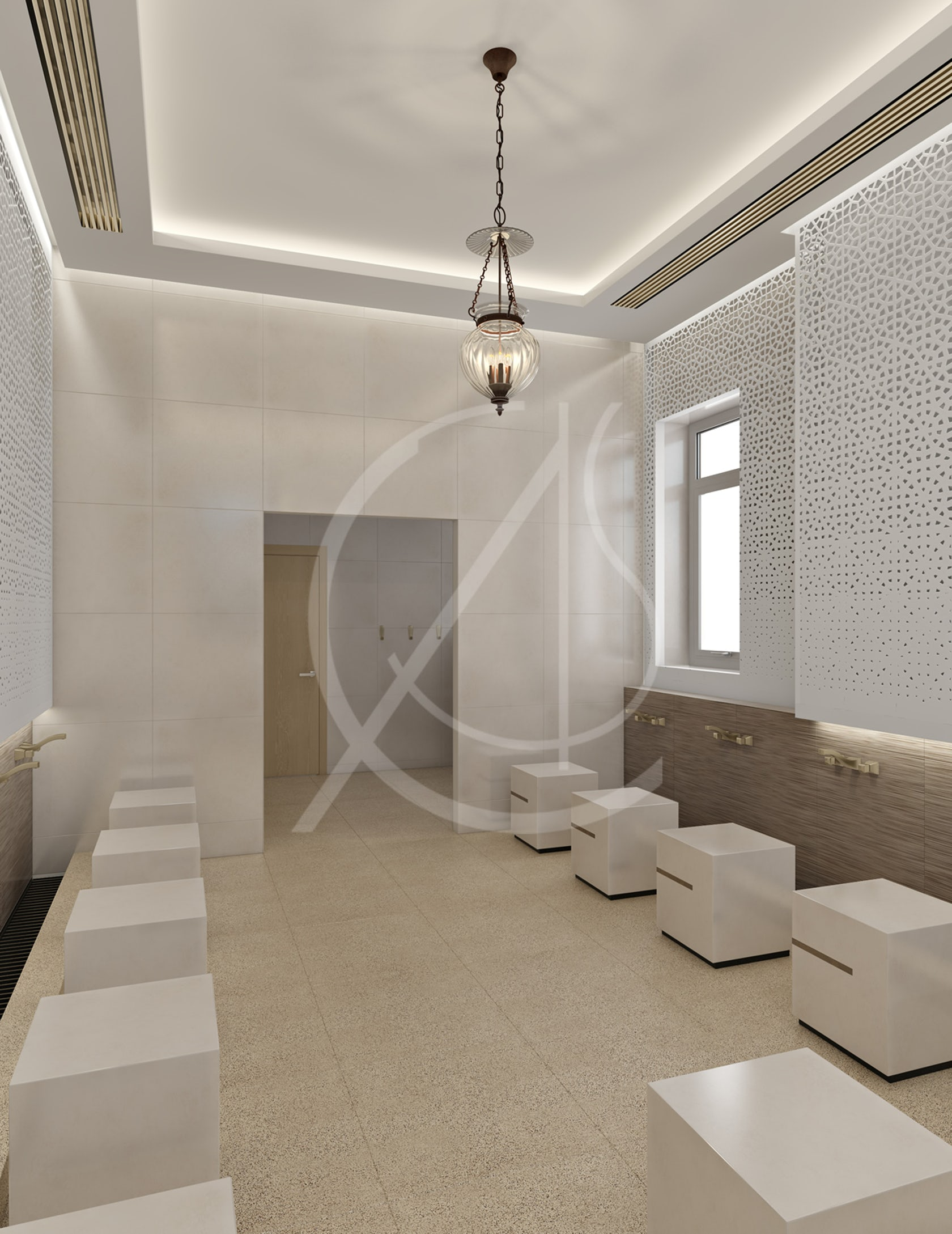 Leicester modern islamic mosque interior design architizer - What is contemporary design ...