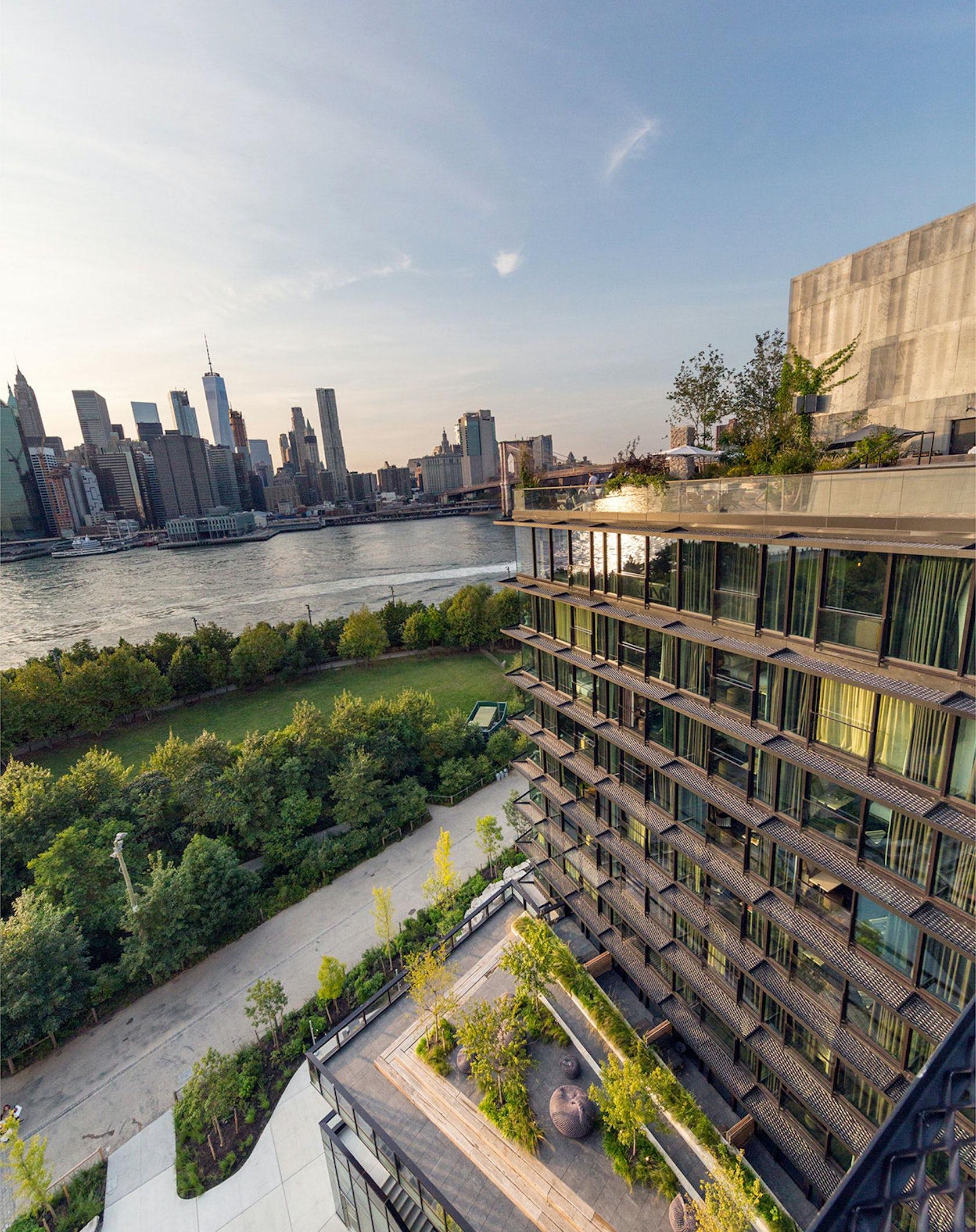 Pierhouse And 1 Hotel Brooklyn Bridge Architizer