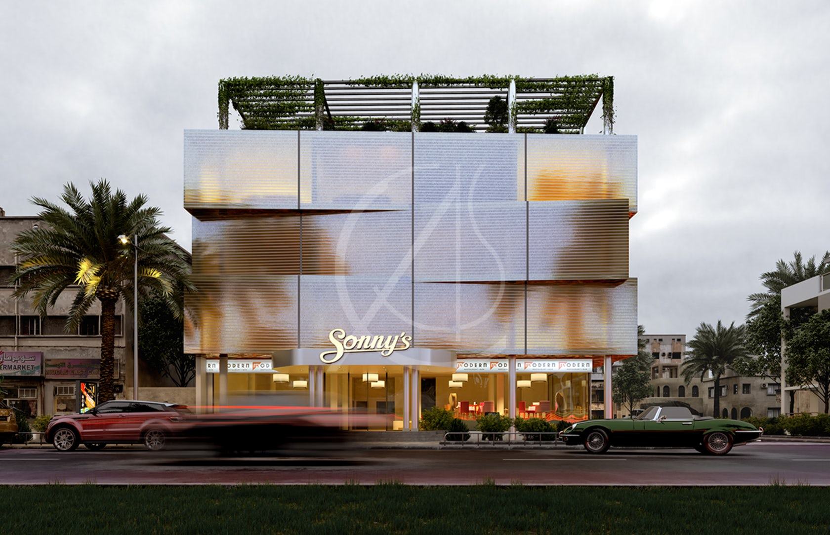 Modern Commercial Building Design by Comelite Architecture ...