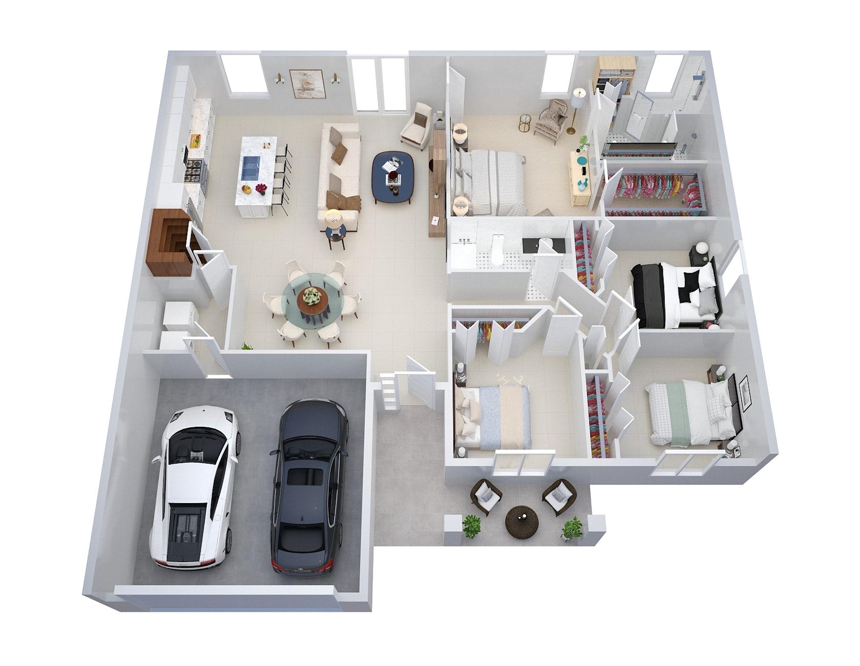Create 2d 3d Floor Plans Architizer