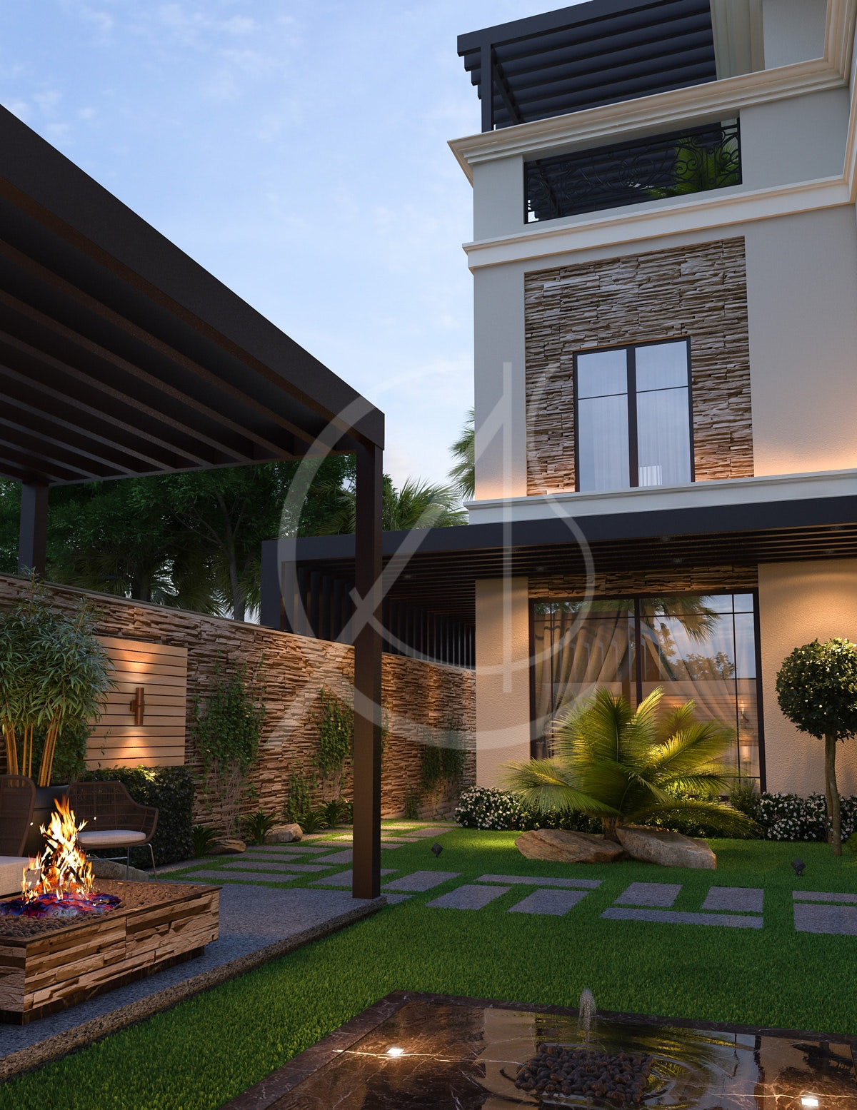 Modern Classic House Design By Comelite Architecture Structure And Interior Design Architizer