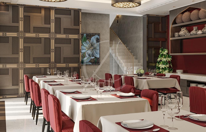 Aswar Hotel Modern Moroccan Hotel Design By Comelite Architecture Structure And Interior Design Architizer