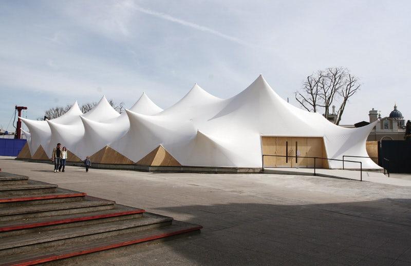 Cutty Sark Pavilion Architizer