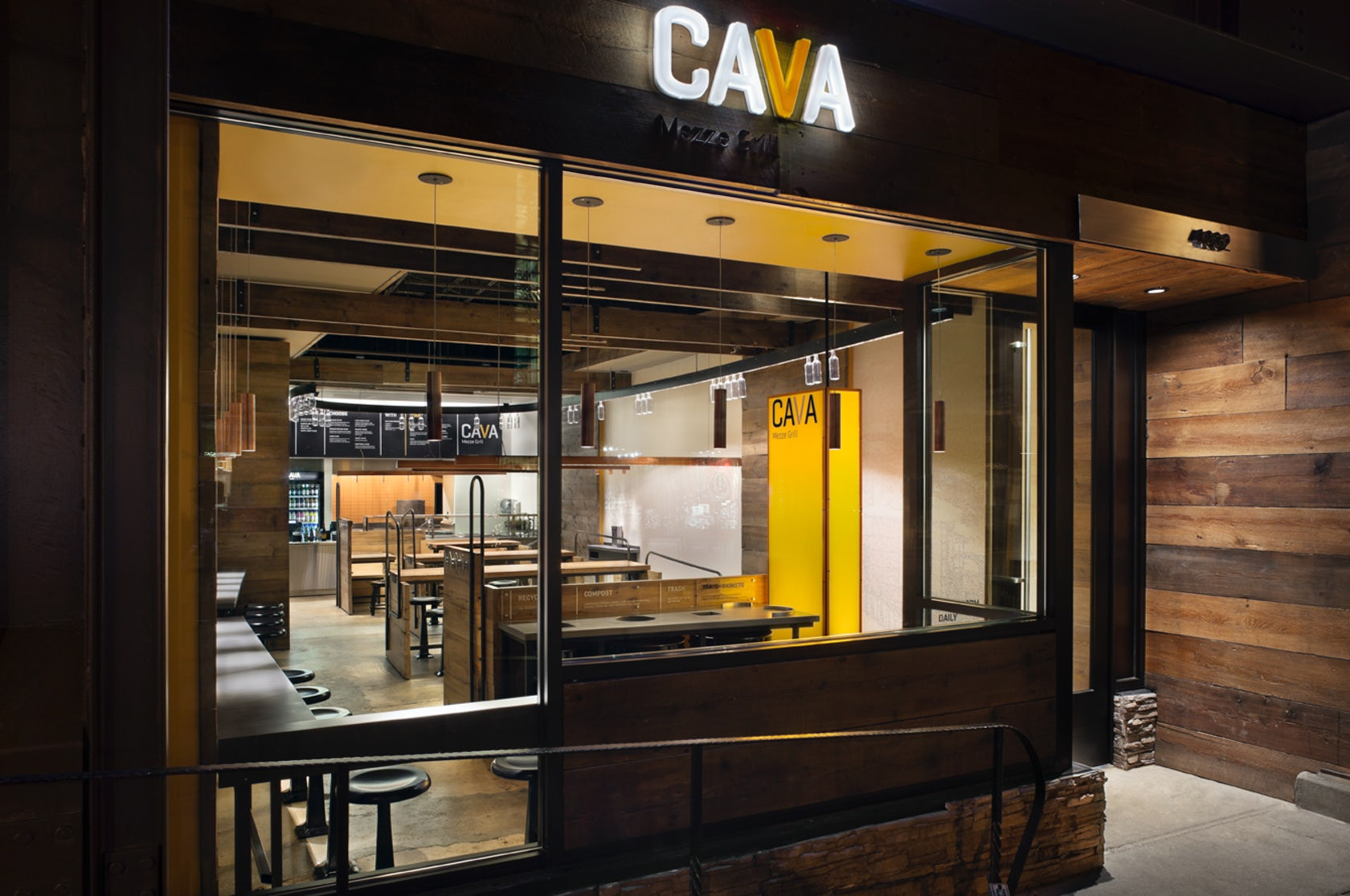 Cava Mezze Grill Architizer