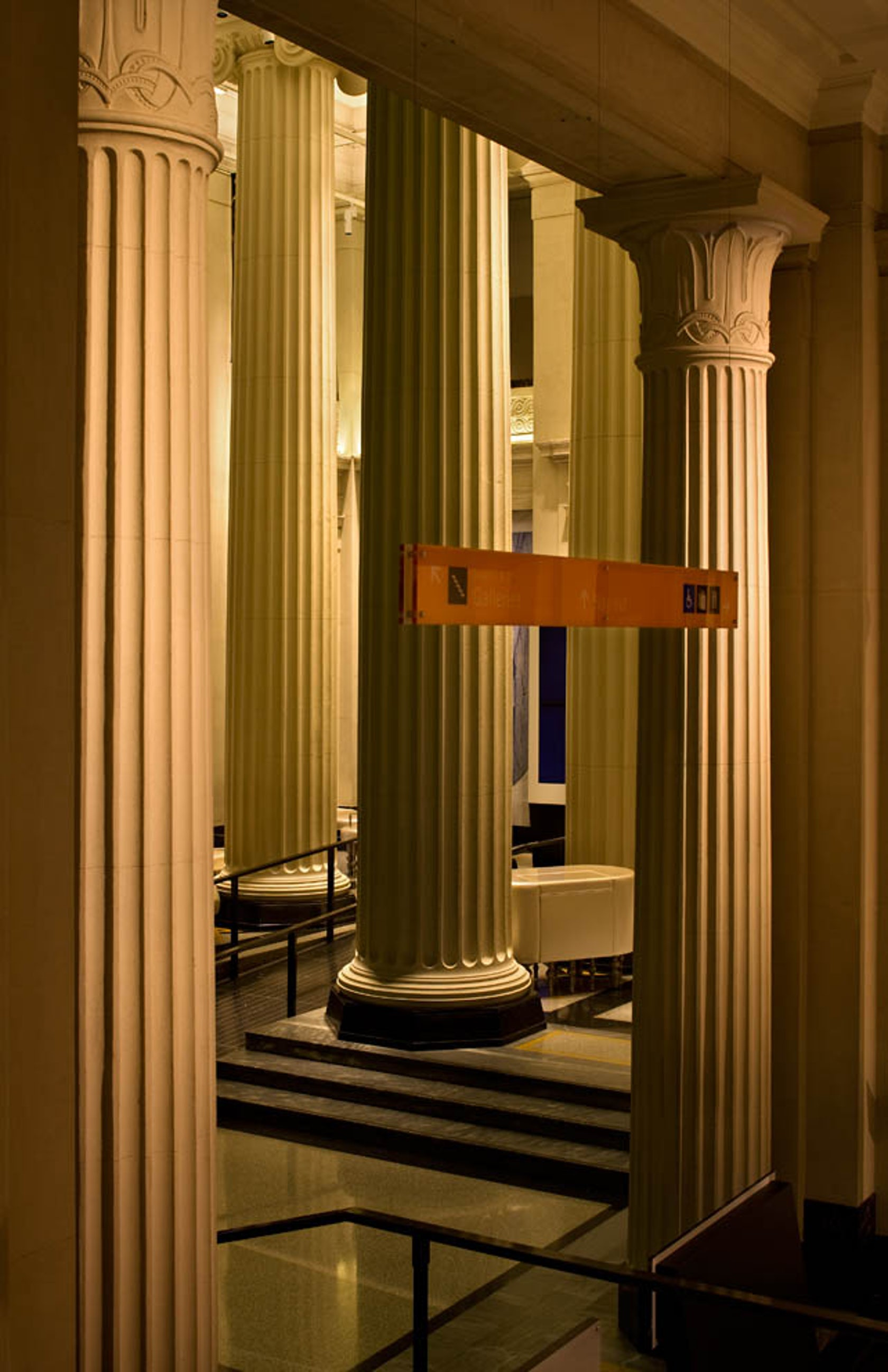 Foyer Grand Format : Auckland museum grand foyer architizer