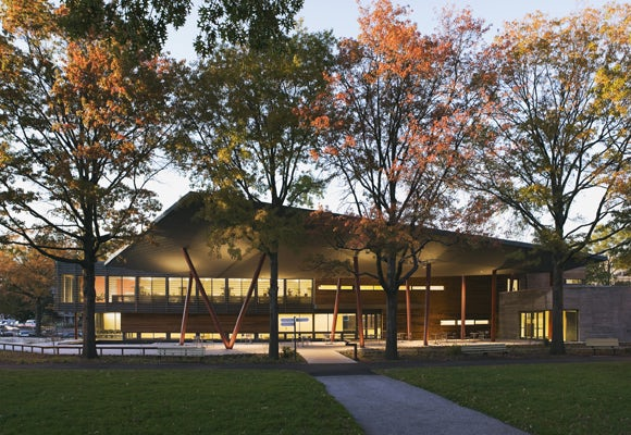 queens botanical garden visitor administration center on architizer