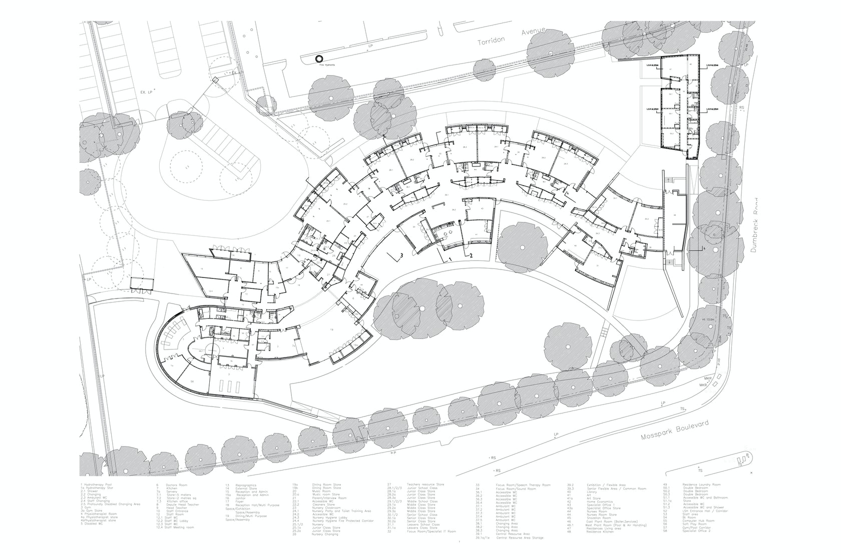Hazelwood school architizer for Plan de arquitectura