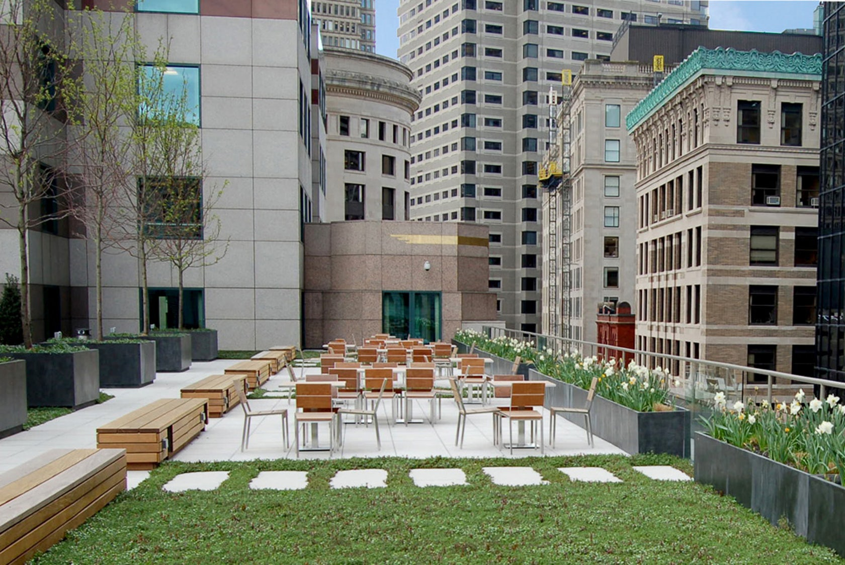 United Auto Group >> 75 State Street Roof Deck - Architizer