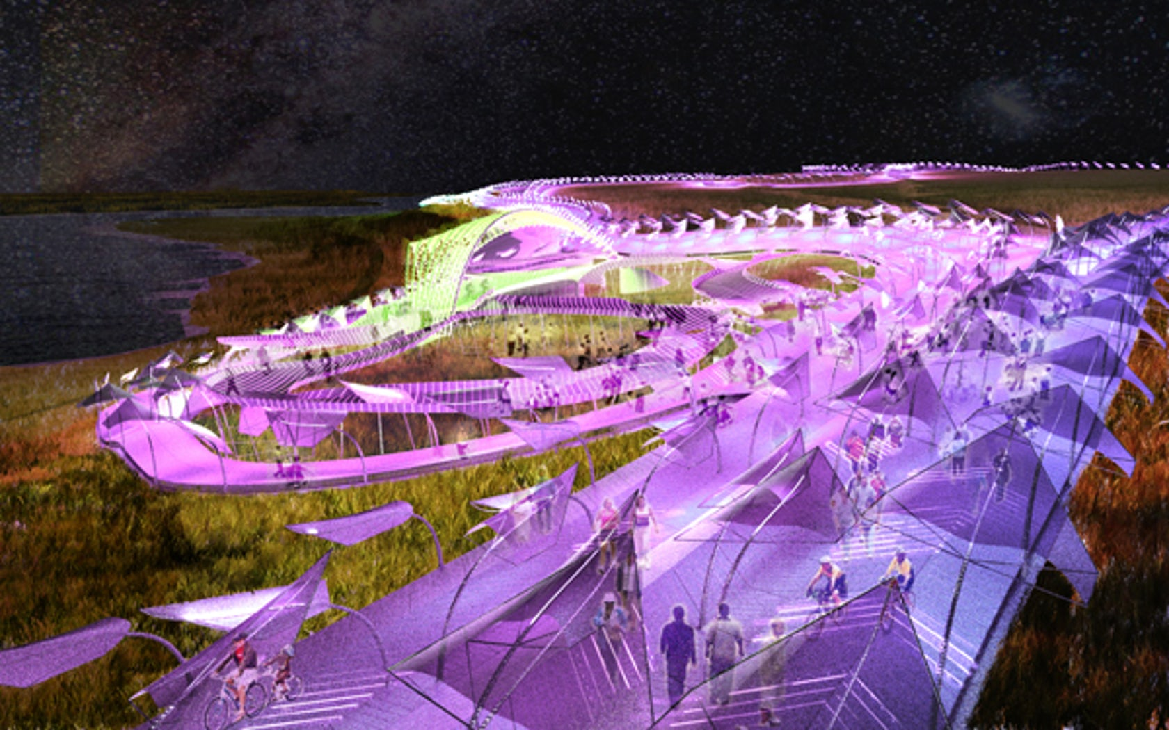 Piezoscape Energy Generating Landscape Architizer
