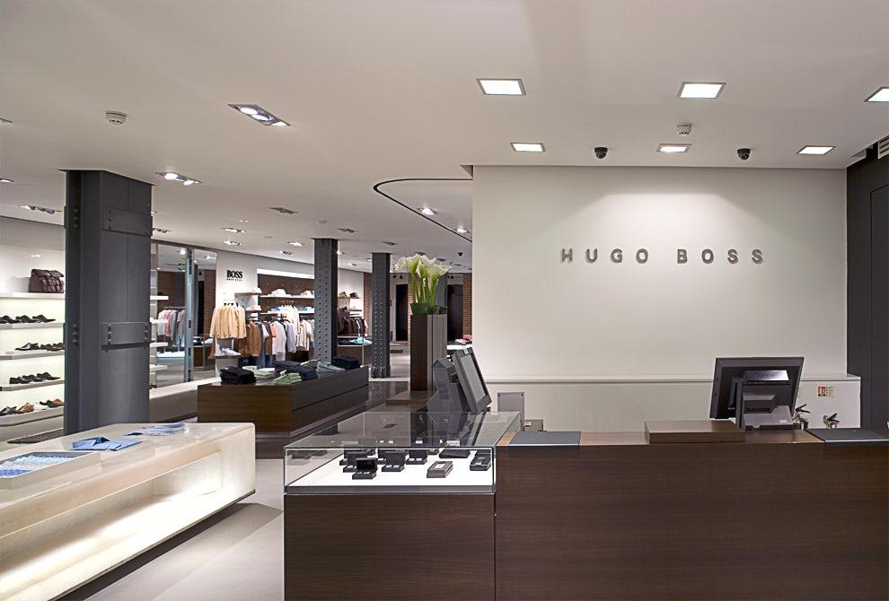 hugo boss london flagship store architizer