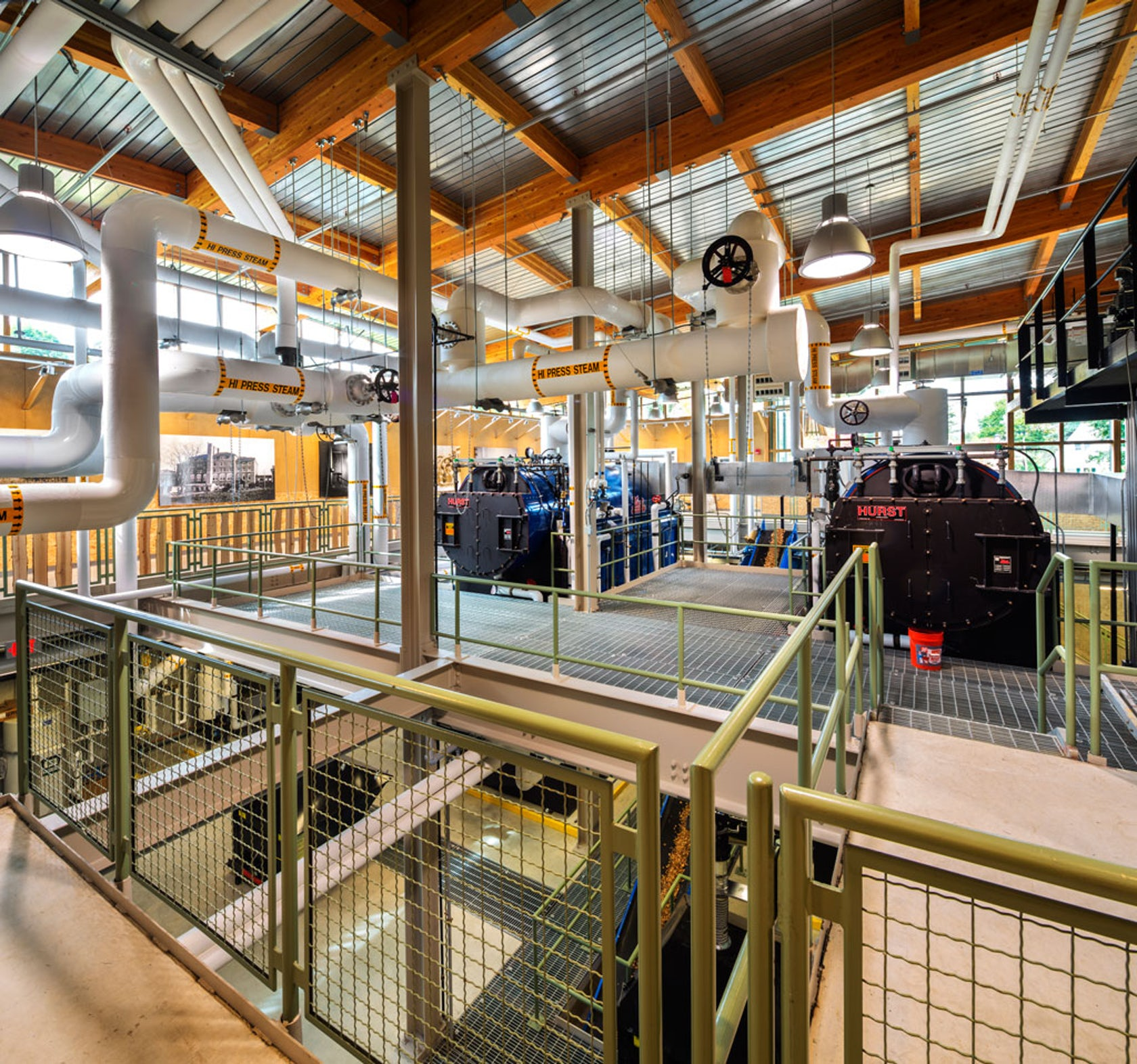 Stem School Eugene Oregon: The Hotchkiss School, Biomass Heating Facility