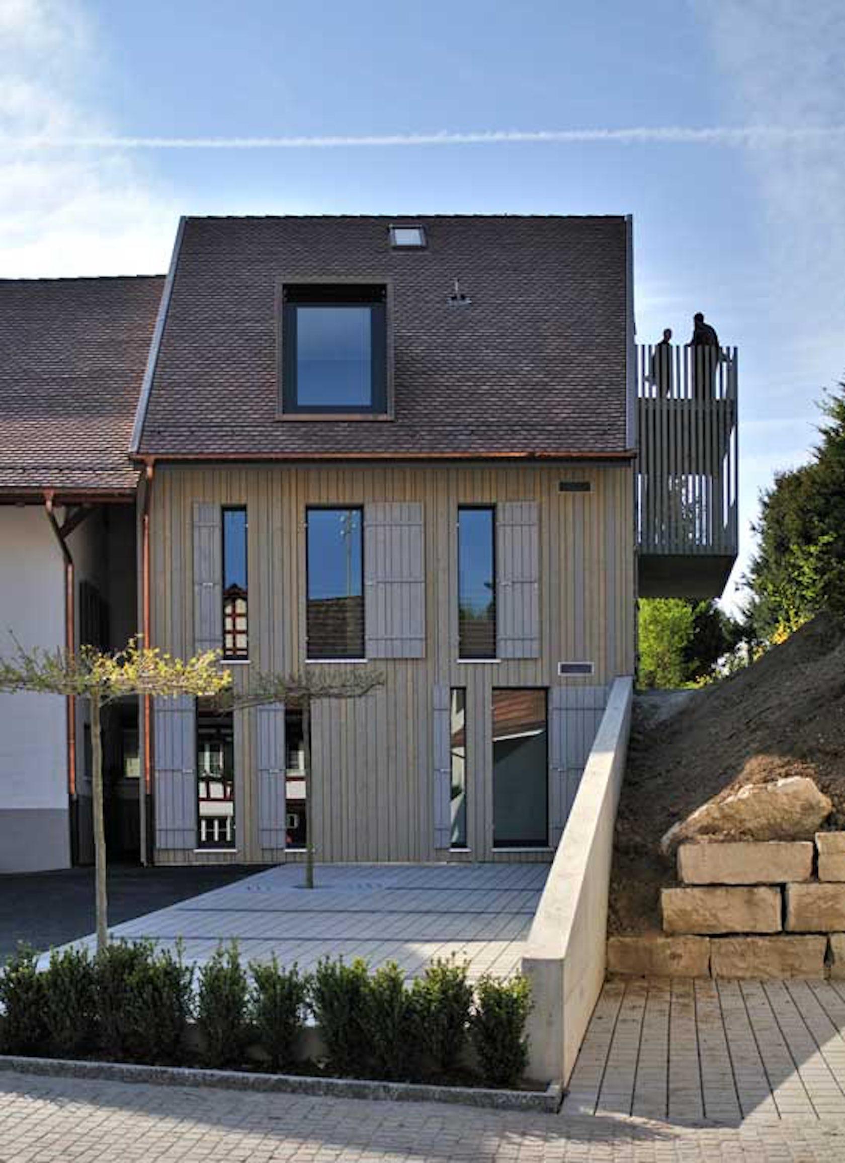 Renovation extension conversion of the former - Renovation petite maison de ville ...