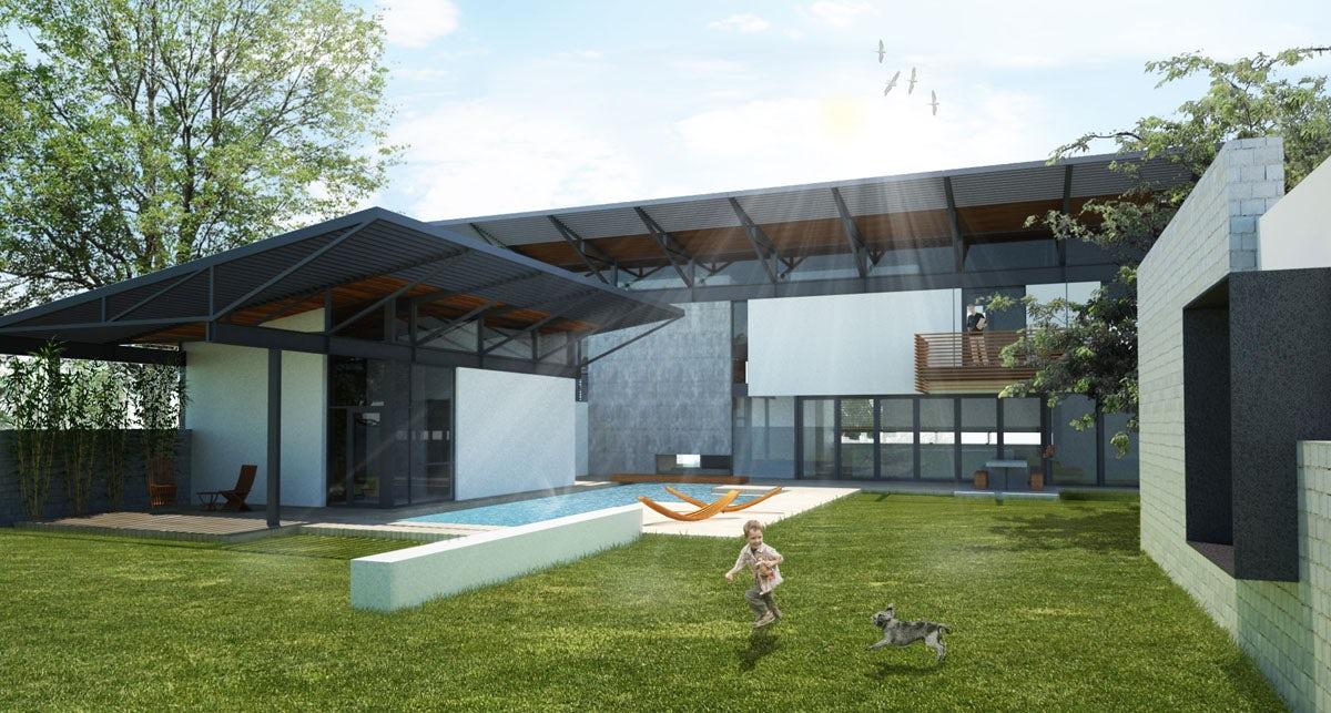 Verandah House Architizer