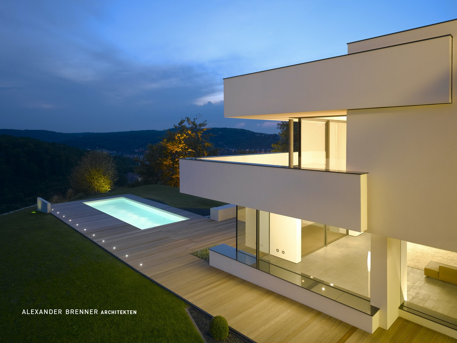 House am Oberen Berg on Architizer