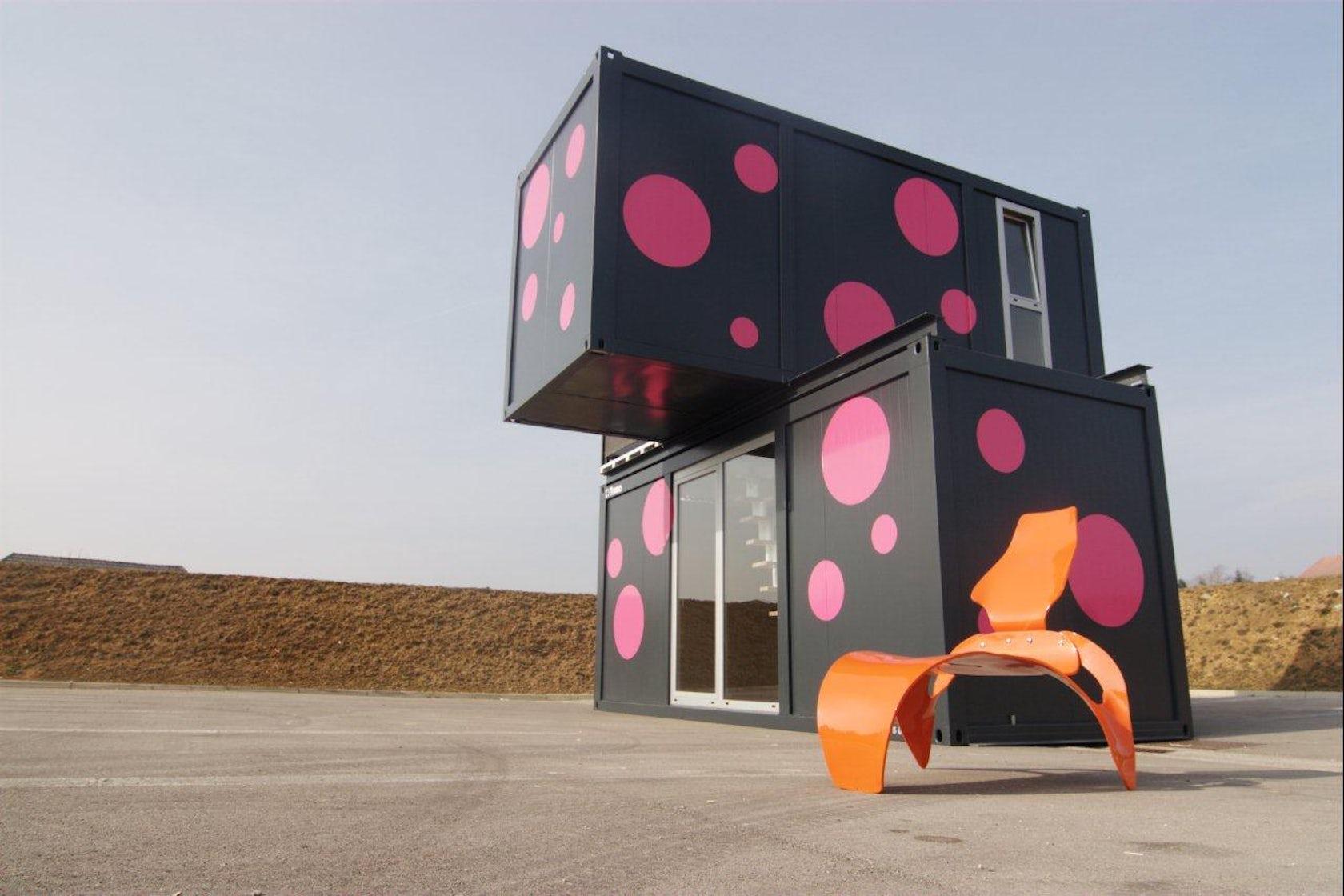 Eitelkeit Conhouse Foto Von