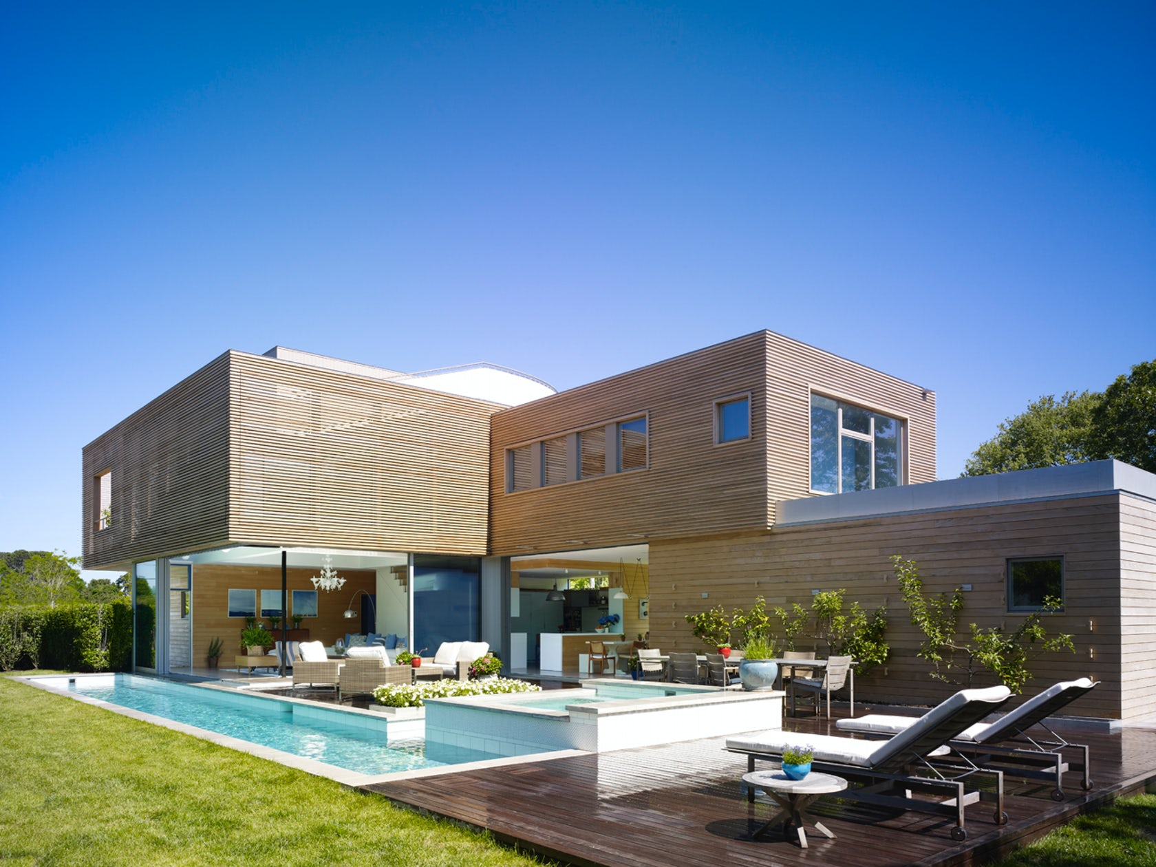 Hamptons new york residence architizer - Residence secondaire austin patterson disston ...