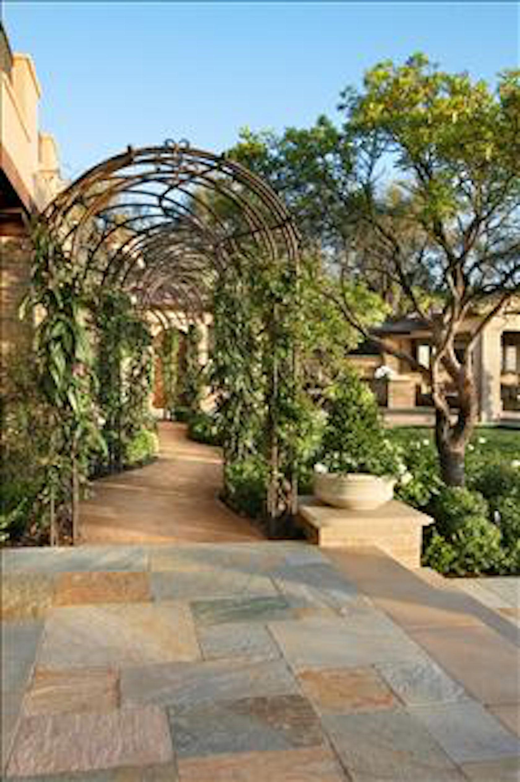 Bartholomew residence architizer for Spanish landscape design
