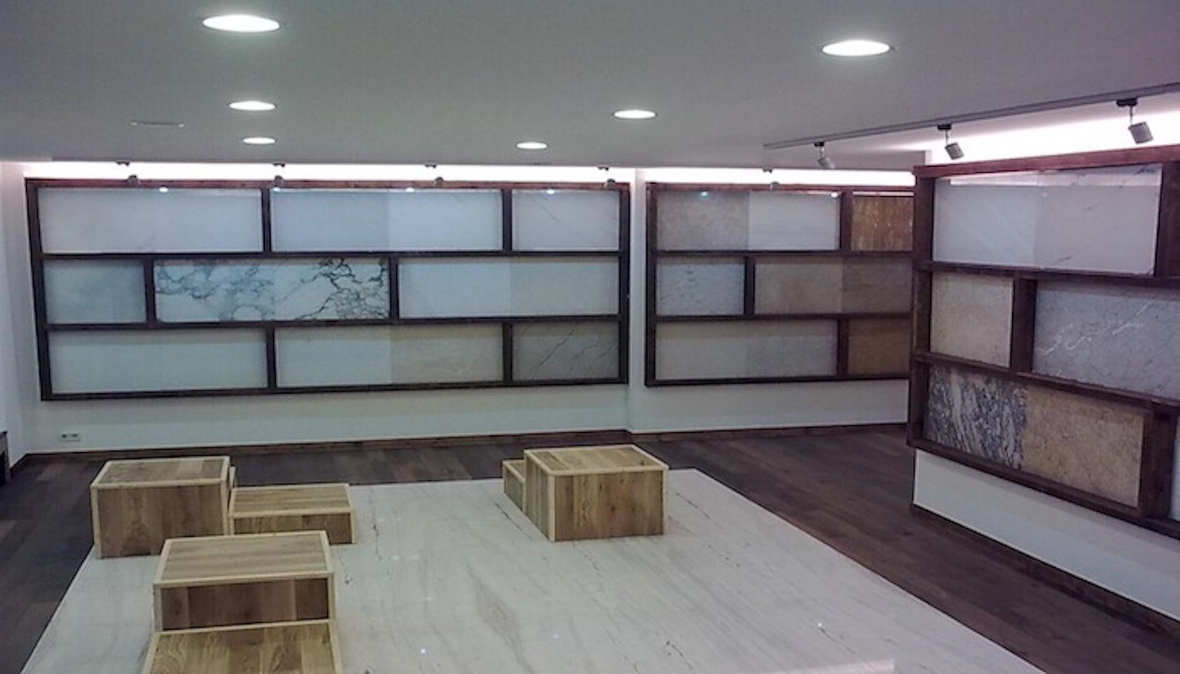 marmo italiano berlin showroom architizer. Black Bedroom Furniture Sets. Home Design Ideas